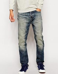 United Colors Of Benetton Loose Fit Jeans With Blasting Asos £27