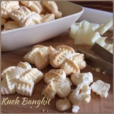 My Mind Patch: Kueh Bangkit (Coconut Cookie)