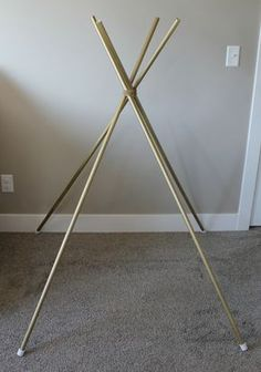 Easy Toddler Teepee