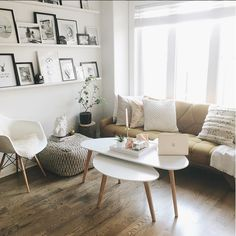 Bright and beautiful living room, with the Lejre coffe table @natspencer