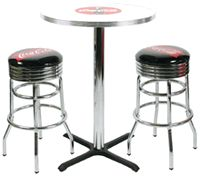 Coca-Cola Fishtail Pub Set For 2     $565.95