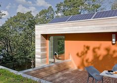 colourful eco-friendly home