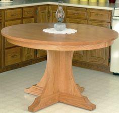 New! Sante Fe pedestal table..