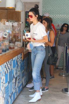"""""""August 22, 2016 - At Go Greek Yogurt in Beverly Hills. """""""