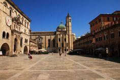 Ascoli Piceno- Marche- Italy - Piazza del Popolo,  one of the most beautiful squares in Italy   -Photo by Celo Risi #destinazionemarche #marche #marchesummer15