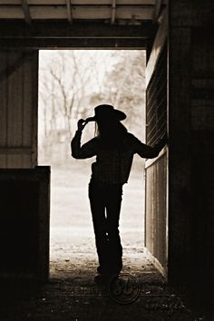 Cowboy Way ~ silhouette cowgirl
