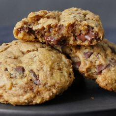 Cookies Et Biscuits, Toffee, Cravings, Caramel, Bakery, Nutrition, Giambattista Valli, Chocolate, Pull