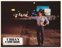 "One of my favorite Sissy lines: ""I got a thumb, I got a middle finger!"" Urban Cowboy (1980)"