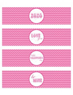 Exclusive Free Printables | Love is sweet, Classroom and Water bottles