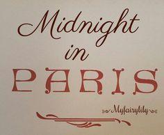 Midnight In Paris, Jazz Age, Screenwriting, Literature, Literatura