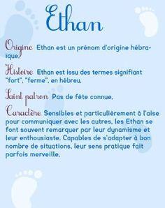 le prénom ethan