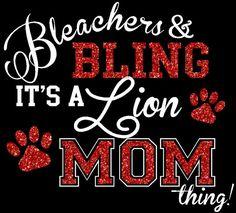 Rhinestone Accented Bleachers and Bling Shirt, Cheer Mom, Football Mom, Baseball Mom, Team Spirit Shirts by The Walnut Street House on Etsy, $28.00