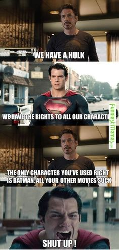 Funniest Memes - [We Have A Hulk, We Have The Rights To...]>>> Suicide Squad was pretty good though, and wonder woman was amazing