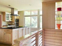Midcentury Modern Kitchen Island Seating : Designers' Portfolio : HGTV - Home & Garden Television