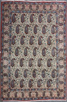 Persian rugs are much sought after because of their excellent design, quality, and patterns. They are used as floor coverings or wall hangings.