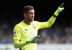 Maarten Stekelenburg was very impressive for Everton on his competitive debut, making two important saves against Spurs