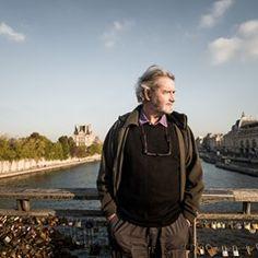 Belgian actor Roger Van Hool in Paris