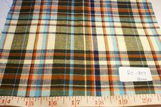 Madras fabric, madras plaid, plaid fabric - PATCHWORK MADRAS FABRIC. Zion's room curtains