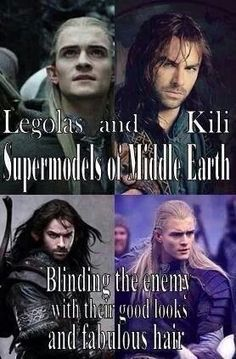 Legolas and Kili