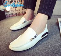 New Men Slip On Driving Moccasins Casual Flat Breathable Shoes