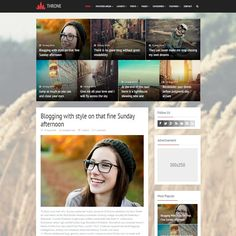 Throne is a free responsive blogger template designed for personal and magazine sites.It is a perfect blend of minimal design and amazing magazine features