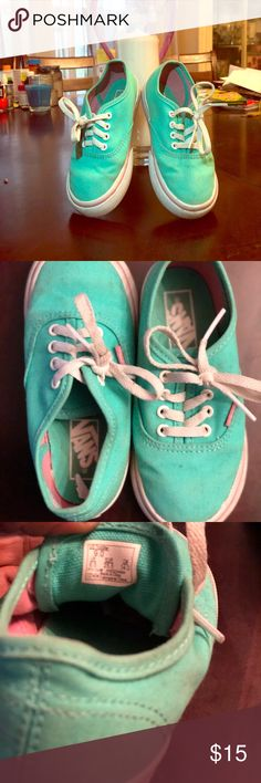 Toddler size 9.0 vans good condition Good condition child grew out of them Vans Shoes Sneakers