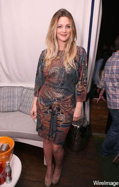 A Week In The Style Of Drew Barrymore!   Grazia Fashion