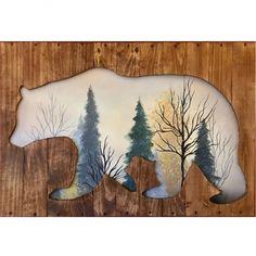 Bear Art Bear Art, Moose Art, Woodworking, Fun, Animals, Design, Animales, Animaux, Animais