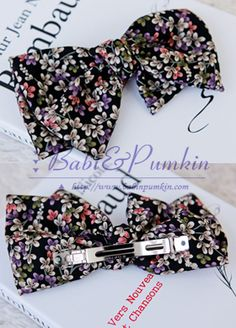 Today's Hot Pick :Floral Ribbon Clip http://fashionstylep.com/SFSELFAA0005974/bapumken1/out High quality Korean fashion direct from our design studio in South Korea! We offer competitive pricing and guaranteed quality products. If you have any questions about sizing feel free to contact us any time and we can provide detailed measurements.
