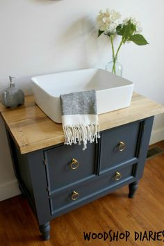 diy bathroom vanityi smell another bathroom remodel