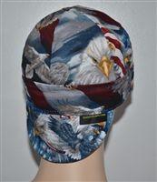WELDING CAP MADE WITH   RED CAMEO ALABAMA