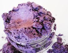 XOXO  Purple Mineral Eye Shadow  10g Sifter Jar. $7.99, via Etsy.