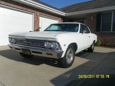 1966 Chevrolet, Chevelle  32900.00 USD  '66 Chevelle Malibu special ordered optional Super Sport Interior package (bucket seats, c insole, floor shift, clock) This vehicle has all of the markings and wear showing what is to be believed actual miles of 39,745. The car has had one repaint, some interior has been replaced with original re-manufactured materials. The mechanicals of this car are in fantastic original co ..  http://www.collectioncar.com/detailed.php?ad=51914&category_id=1