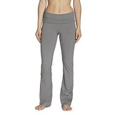dc4bb3cee7733 Gaiam Women's Nova Bootcut Pant, Steel, Medium   store