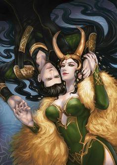 Loki and Lady Loki
