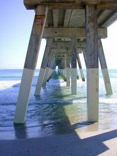 Wrightsville Beach Pier in North Carolina