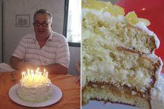 Este mês aqui em casa é o mês dos aniversários, tem um aniversário a cada semana, e com isso vou fazer um bolo a cada semana, até todo mundo enjoar…haha. Depois do bolo de chocolate do meu irmão, ontem fiz o bolo do meu pai, e o único bolo que ele gosta é o pãoVer Receita