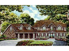 Houseplans.com Plan #38-782 Front Elevation