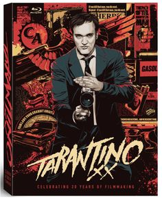 Coffret Blu-ray Tarantino XX 8-Film Collection - http://www.kdbuzz.com/?coffret-blu-ray-tarantino-xx