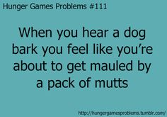 I was camping in a tent one night and heard a bunch of dogs barking and fighting... What if they were mutts? :o