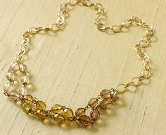 Elegant Neutral Necklace Martha Stewart Crafts Jewelry