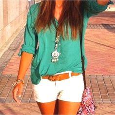 white shorts:: ❤