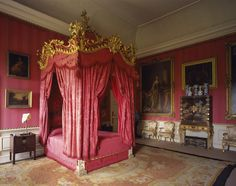 Some of the lacquer cabinets and coffers collected by Duchess Elizabeth in what is now called Mrs Wyndham's Bedroom. ©National Trust Images/Bill Batten