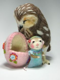 Needle Felting / Needle Felted Creations By Barby Anderson: March 2012