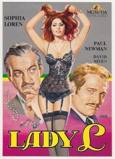 Lady L (1966) Stars: Sophia Loren, Paul Newman, David Niven, Marcel Dalio ~ Director: Peter Ustinov