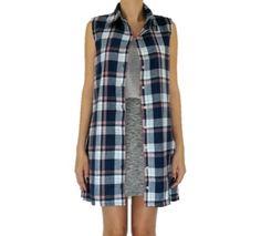 Colete e vestido xadrez da marca Coleteria ♡ - Coletes femininos e infantis - Coleteria   sempre♡