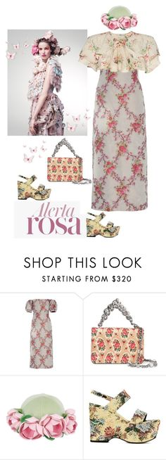 """""""Alerta Rosa"""" by naturalbornstyler ❤ liked on Polyvore featuring Vision, Brock Collection, Mor, Miu Miu, Francesco Ballestrazzi, Yves Saint Laurent and Vilshenko"""