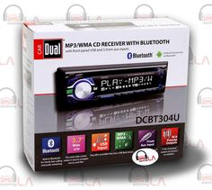 Sourcing-LA: Dual DCBT304U Single Din CD/Front USB/AUX Car Radi...