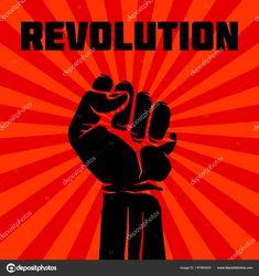 Descargar - Protesta, rebelde vector revolución arte cartel — Ilustración de stock Film Festival Poster, Democratic Socialist, Character Art, Illustration, Freedom, Graphic Design, Wall, Movie Posters, Socialism