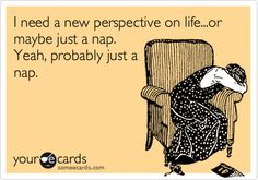 a nap is the answer to everything!
